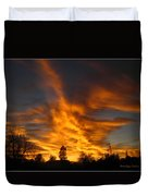 02 05 11 Sunset Two Duvet Cover