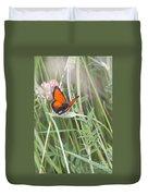 02 Balkan Copper Butterfly Duvet Cover