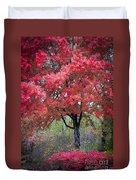0277 Blazing Red Duvet Cover