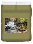 0278 South Elgin Waterfall Duvet Cover