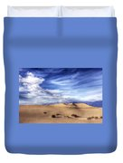 0292 Death Valley Sand Dunes Duvet Cover