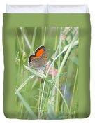 03 Balkan Copper Butterfly Duvet Cover
