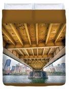 0309 Pittsburgh 4 Duvet Cover by Steve Sturgill