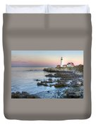 0312 Portland Head Lighthouse Duvet Cover