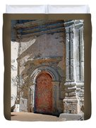 0328 Mission At San Juan Capistrano Duvet Cover
