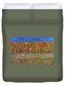 035 Fall Colors Duvet Cover