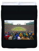 0350 Lambeau Field Duvet Cover
