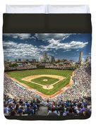 0443 Wrigley Field Chicago  Duvet Cover