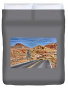 0445 Valley Of Fire Nevada Duvet Cover
