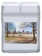0452 Chicago Skyline Duvet Cover