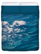 0458 Above The Caribbean Duvet Cover