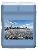 0486 Chicago Skyline Duvet Cover