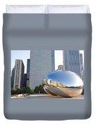 0553 Millennium Park Chicago Duvet Cover