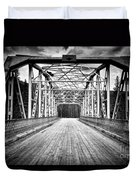 0648 Bow River Bridge Duvet Cover
