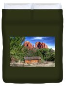0682 Red Rock Crossing - Sedona Arizona Duvet Cover by Steve Sturgill