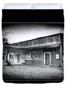 0706 Jerome Ghost Town Black And White Duvet Cover