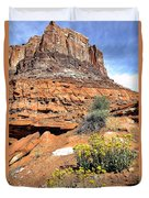 0712 Guardian Of Canyonland Duvet Cover