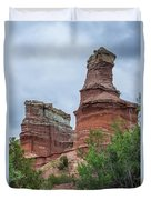 07.30.14 Palo Duro Canyon - Lighthouse Trail  19e Duvet Cover