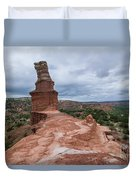 07.30.14 Palo Duro Canyon - Lighthouse Trail 47e Duvet Cover