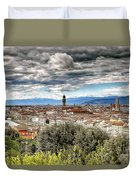 0753 Florence Italy Duvet Cover