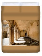 0758 Doge Palace - Venice Italy Duvet Cover