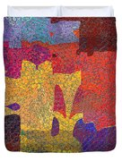 0787 Abstract Thought Duvet Cover
