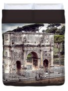 0793 Arch Of Constantine Duvet Cover