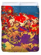 0806 Abstract Thought Duvet Cover