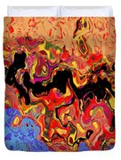 0809 Abstract Thought Duvet Cover