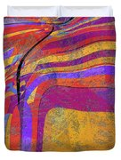 0871 Abstract Thought Duvet Cover