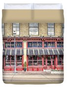 0875 Emmett's Tavern And Brewing Company Duvet Cover