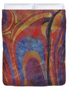 0880 Abstract Thought Duvet Cover