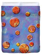 0888 Abstract Thought Duvet Cover