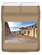 0926 Sky City - New Mexico Duvet Cover