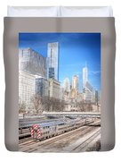 0945 Chicago Duvet Cover