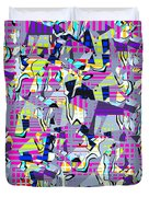 0978 Abstract Thought Duvet Cover