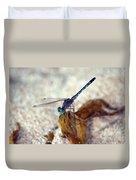 Blue Dragonfly Duvet Cover