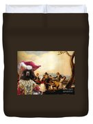 Irish Water Spaniel Art Canvas Print Duvet Cover