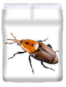 Red Palm Weevil Duvet Cover