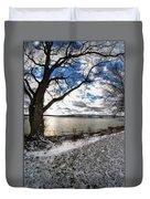 008 Grand Island Bridge Series Duvet Cover