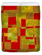 0393 Abstract Thought Duvet Cover