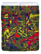 0399 Abstract Thought Duvet Cover
