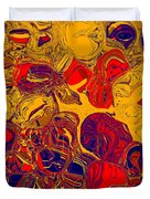0576 Abstract Thought Duvet Cover