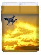1-iaf F-16i Fighter Jet Duvet Cover