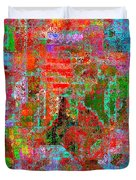 1306 Abstract Thought Duvet Cover