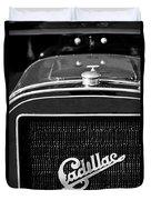 1907 Cadillac Model M Touring Grille Emblem Duvet Cover