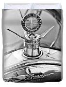 1923 Ford Model T Hood Ornament Duvet Cover
