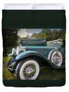 1929 Isotta Fraschini Tipo 8a Convertible Sedan Duvet Cover