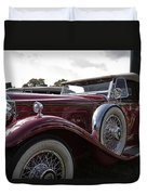 1930 Packard Model 734 Speedster Runabout Duvet Cover