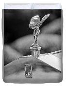 1930 Rolls-royce Phantom I Transformal Phaeton Hood Ornament Duvet Cover